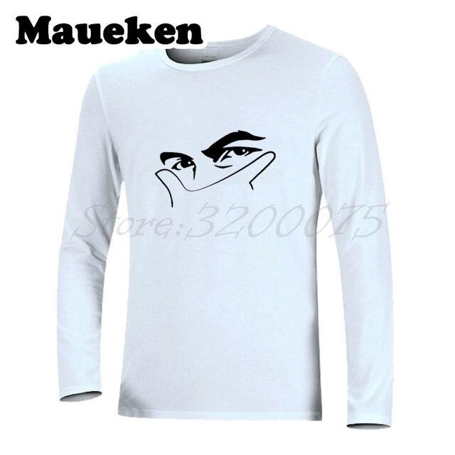 491aadb1c Men Autumn Winter Argentina Paulo Dybala  10 mask gestures La Joya T-Shirt  Long Sleeve Clothes T SHIRT Men s W17080703