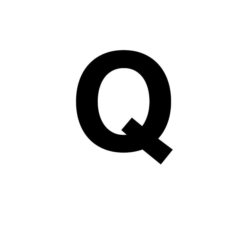 Унисекс, золото, серебро, цвет, A-Z, 26 букв, первоначальное имя, кольца для мужчин и женщин, геометрический сплав, креативные кольца на палец, ювелирные изделия - Цвет основного камня: Q