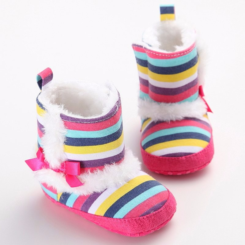 Stiefel Mutter & Kinder Besorgt Mode Kinder Prinzessin Baby Mädchen Schuhe Baumwolle Gepolsterte Infant Kleinkind Stiefel