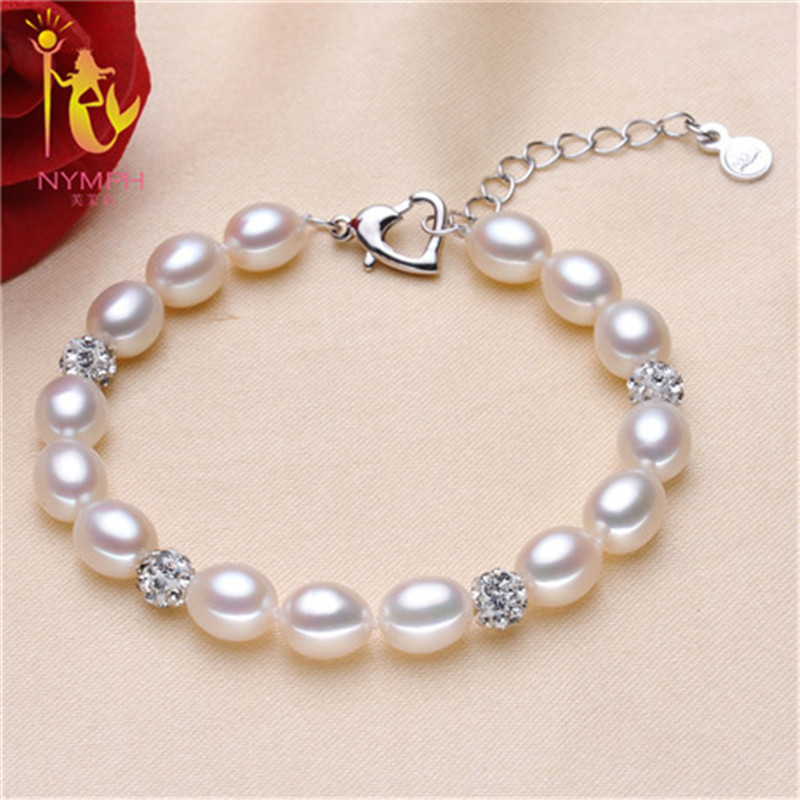 Nymph Pearl Jewelry Natural Set Real Freshwater Necklace Bracelet Earrings Rings Pendant Fine T110 In Sets From