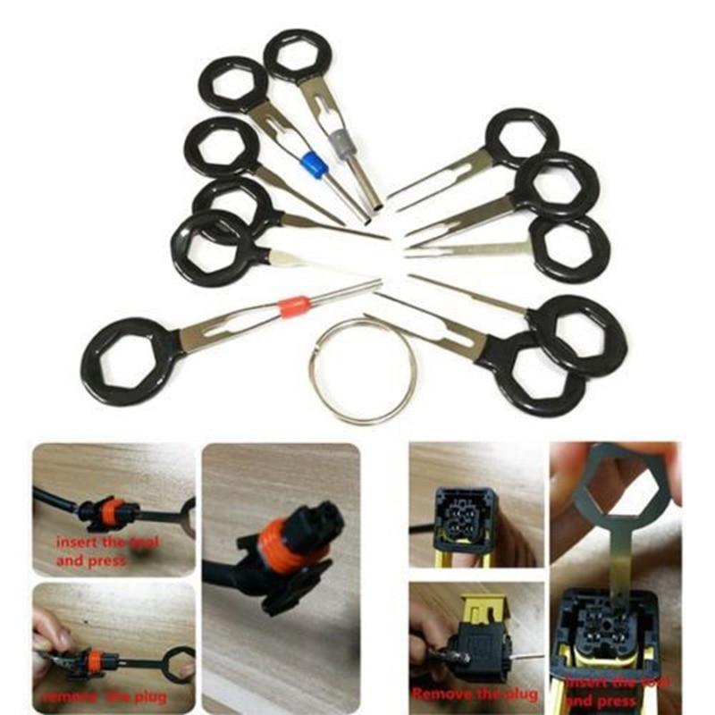 11Pcs/Set Needle Remover Auto Car Plug Circuit Board Connector Pin ...
