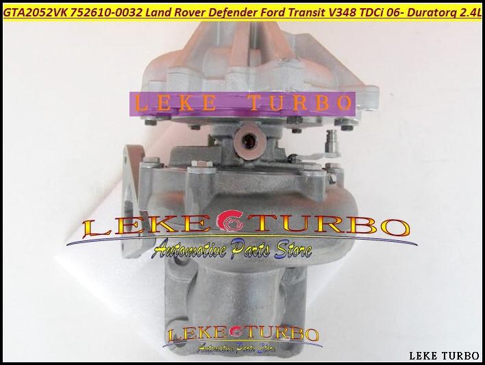 GT2052V 752610-5032S 752610-5009S YC1Q6K682DA 1355066 752610 Turbo For Ford Transit 6 For Land Rover Defender DuraTorq V348 2.4L руководящий насос range rover land rover 4 0 4 6 1999 2002 p38 oem qvb000050