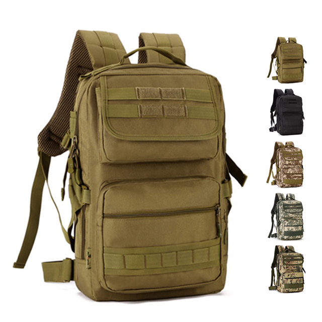 ca8e2f2a13 25L Military Tactical Backpack Male Multifunction Outdoor Army Camping  Hiking Hunting Rucksack Backpack Tourist Sport Molle Bag