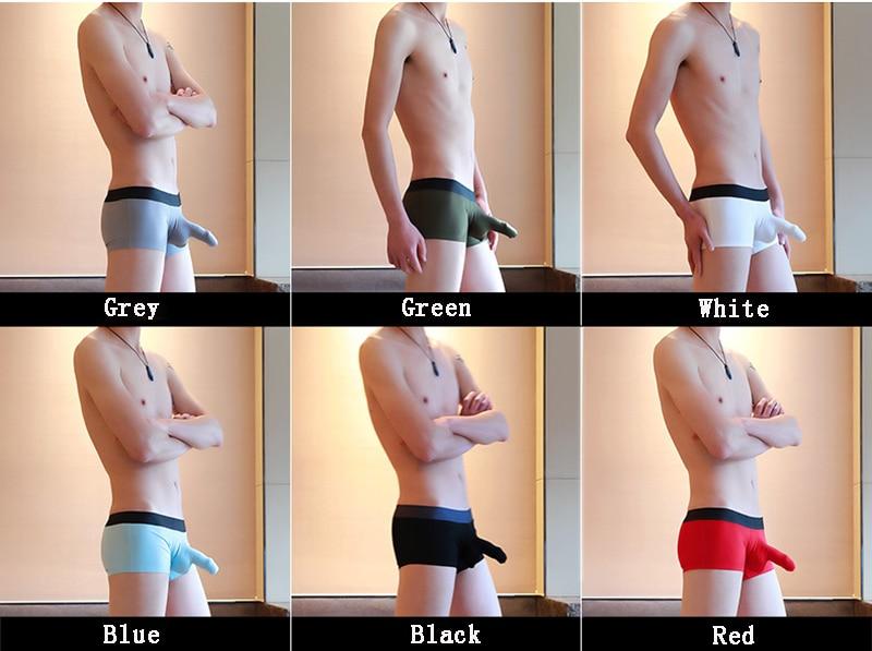 Мужские Модальные спортивные стильные облегающие Горячие дышащие забавные сексуальные мужские боксеры нижнее белье