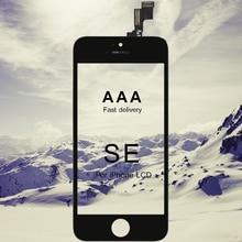 20 pçs aaa qualidade substituição do telefone lcd para iphone se display com tela de toque vidro digitador assembléia para iphone se lcd