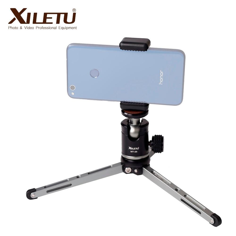 CimaPro XT 15 MT 26 Desktop Portable Lightweight Ball Head Tripod Universal For Cellphone Smartphone Digital