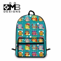 Owl Printed Jan Sports Backpacks For Girls Children S School Bookbags Laptop Back Pack For Elementary
