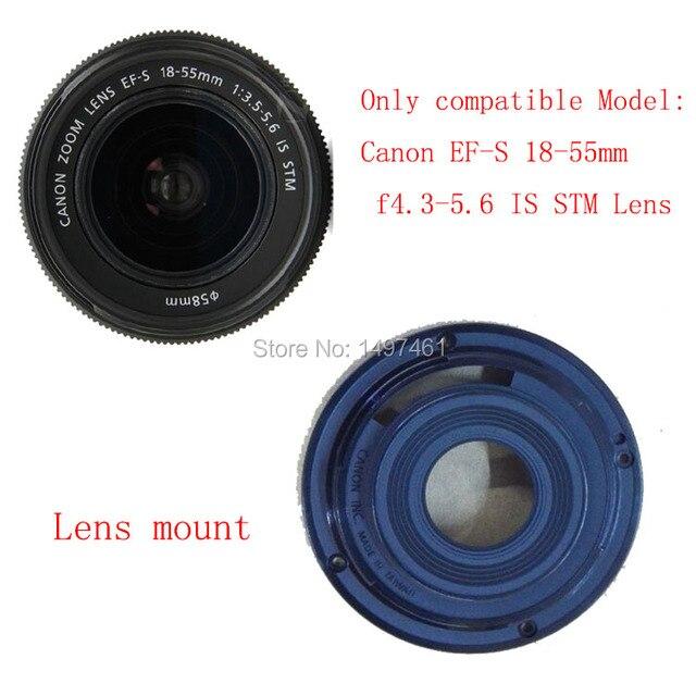 Новый оригинальный Объектив Байонет Кольцо Ремонт Для Canon EF-S 18-55 мм F/3.5-5.6 IS STM объектива