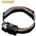 Manker E03H AA Koplamp 350LM CREE XP-L/Nichia 219C LED Koplamp Hoek zaklamp Met Hoofdband, Magneet Staart, omkeerbare Clip