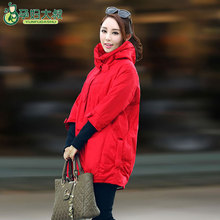 Резьбой-рукава беременности зимняя сплошной верхняя материнства куртки беременных куртка пальто цветов