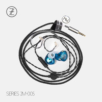 TFZ SERIES 2 S2 Entry level Monitor Earphones Dual layer Dynamic HIFI in ear Earphone Removable Cable with Microphone 2018