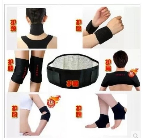 Free Shipping 11-In-1 Hot Selling Tourmaline Heating Massage Belt with Tormaline and Magnetic Therapy for Keeping Warm &Healthy