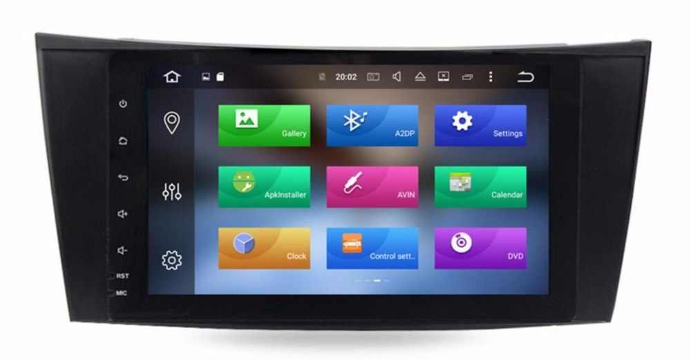 ¡4G LTE 9 pulgadas IPS! Para Mercedes/Benz W211 E clase G W464 CLS 2 din Octa 8 core 4G RAM Android 8,0 reproductor de DVD del coche GPS Radio NAVI
