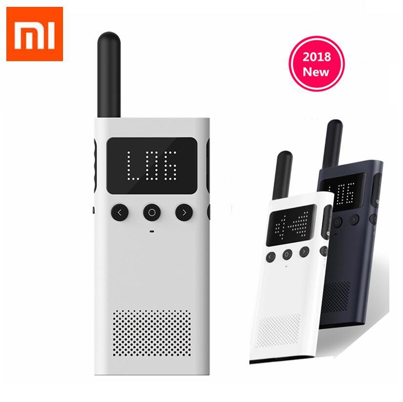 Mise à jour version Xiaomi Mijia Intelligent Talkie Walkie 1 S Avec FM haut-parleur de radio Veille smartphone APP Emplacement Part Rapide Équipe Parler