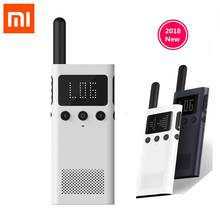 update version Xiaomi Mijia Smart Walkie Talkie 1S With FM Radio Speaker Standby Smart Phone APP Location Share Fast Team Talk(China)