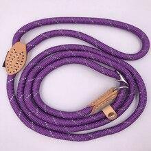 Pet hundebånd nylon Reflekterende ledning P reb S / M / L Robust stærk Antirust hund halsbånd til små hunde dagligt fodtøj tilbehør