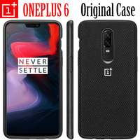ONEPLUS 6 CASE 100 ORIGINAL OFFICIAL BACK PHONE COVER With Logo Oneplus 6 Phone Case Cover