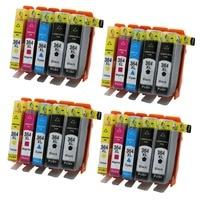 4SET 364XL Compatible Ink Cartridge for HP364 xl Photosmart 5520 5524 6510 6520 7510 B109 B110 B209 B210 C309 C310 C410 Printer