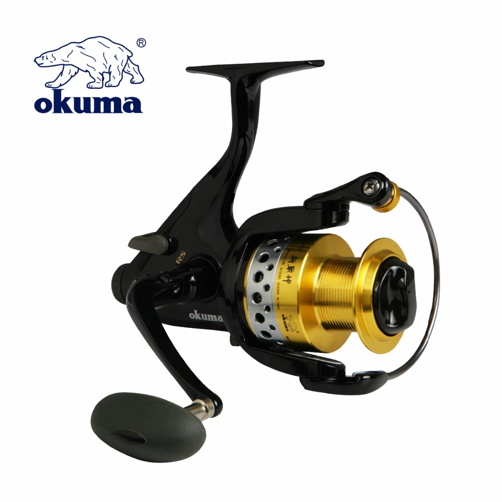 New Okuma new promars NPRM-30/40/50/60 carp spinning reel fishing reels bait feeder system 5+1 fishing reel fishing tackles only true love high quality women boots winter snow boots