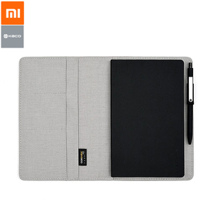 Image 2 - Youpin Kaco Noble Paper Notebook PU Leather Cover Multi layer Storage Design A5 Size Equip with Gel Pen for Business School Gift