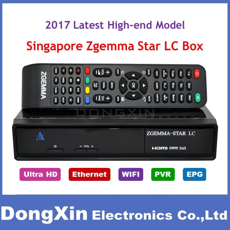 Сингапур StarHub HD ТВ Декодер каналов кабельного телевидения zgemma Star LC high end модель для замены ICAM коробки Поддерживает WI-FI YouTube получает ch227 ch855