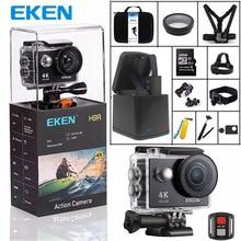 Оригинальный eken H9 спортивные Камера H9R Ultra HD 4K @ 25fps 170 градусов Wi-Fi 2,0 «Подводный Водонепроницаемый шлем Cam камера Action Cam