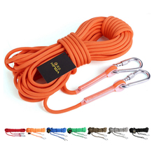 P102 diameter 12mm Outdoor climbing safety rope rescue insurance ropes outdoor survival supplies equipment 10m