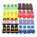 Small Pet Dog Doggy Shoes Lovely Soft Warm Knitted Socks Clothes Apparels For S-XL