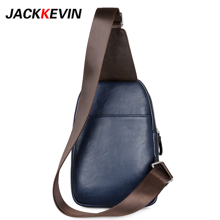 2369bb419b9 Men s Retro PU Fashion Travel Bicycle Motorcycle Bicycle Shoulder Messenger  Pendant Breast Pouch Waterproof Pouch Men s SlantBag-in Crossbody Bags from  ...