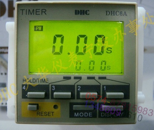 Wenzhou Dahua time relay DHC6A-A3 latched calls continue to delay LCD with backlight wenzhou dahua time relay dhc6a a3 power failure to maintain the call to continue with lcd backlight with backlight
