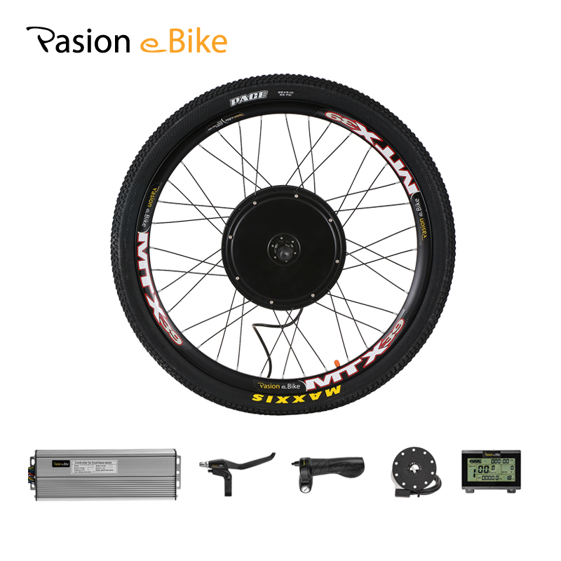 Electric EBike Conversion Kit Front Wheel Motor Hub 36V 350//500W 16-29in