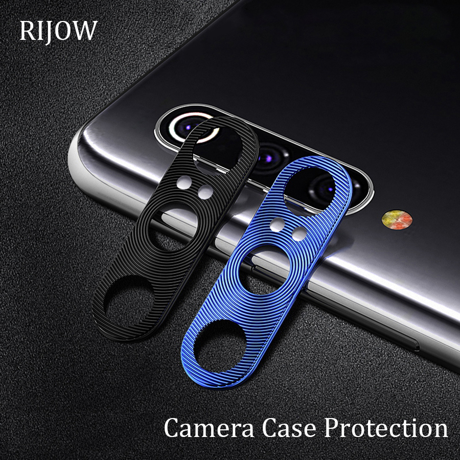 Camera Lens Protective Ring for Xiaomi Redmi Note 7 8 Pro Metal Real Len Protector Cover <font><b>Mi</b></font> <font><b>9</b></font> 8 <font><b>SE</b></font> 6X A2 9T <font><b>Global</b></font> A3 K20 Pro 5G image