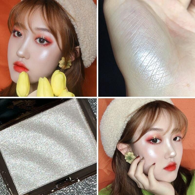 Face Makeup Highlighter Bronzers Palette Glow Kit Facial Contour Shimmer Powder Body Brighten Illuminator Highlight Cosmetics 4