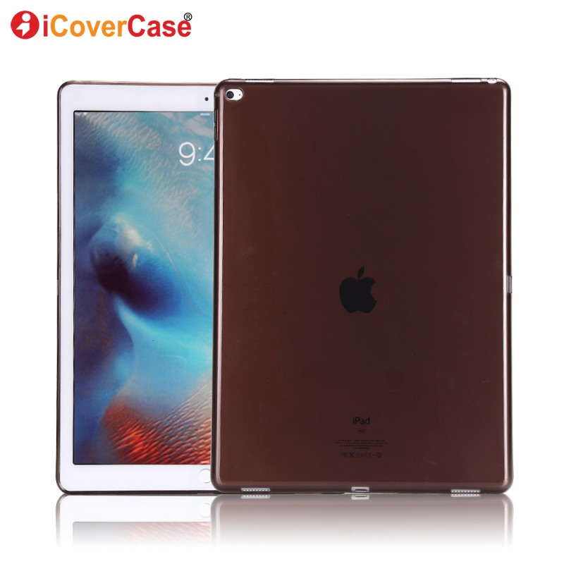 For Apple iPad Pro 12.9 inch Case Protector Case Silicon Cover Clear Color Soft