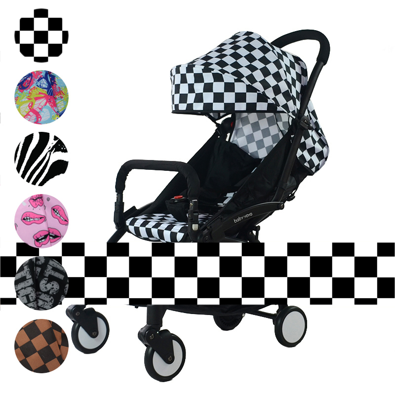Baby Yoya Prams New color Seat + Sunshade Canopy Strollers Accessories Buggies Cushion Pad Sun Shade Cover Infant Carriage Hood-in Strollers Accessories ...  sc 1 st  AliExpress.com & Baby Yoya Prams New color Seat + Sunshade Canopy Strollers ...