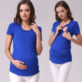 MamaLove Maternity Clothes Maternity Tops Breastfeeding Tops Nursing clothes Nursing top pregnancy clothes for pregnant women