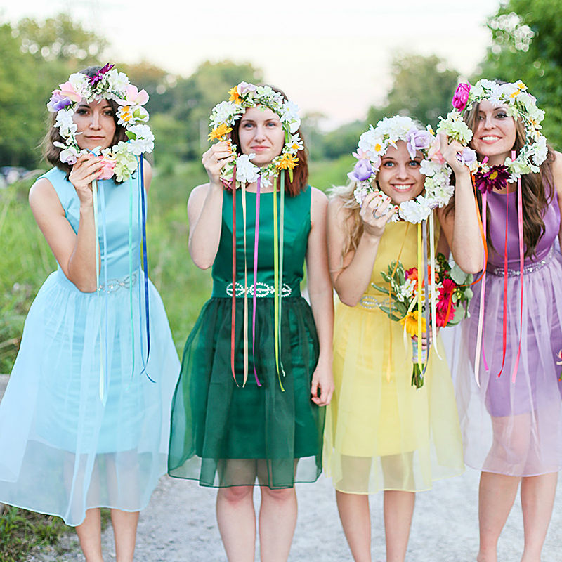 Online Get Cheap Multi Color Bridesmaid Dresses -Aliexpress.com ...