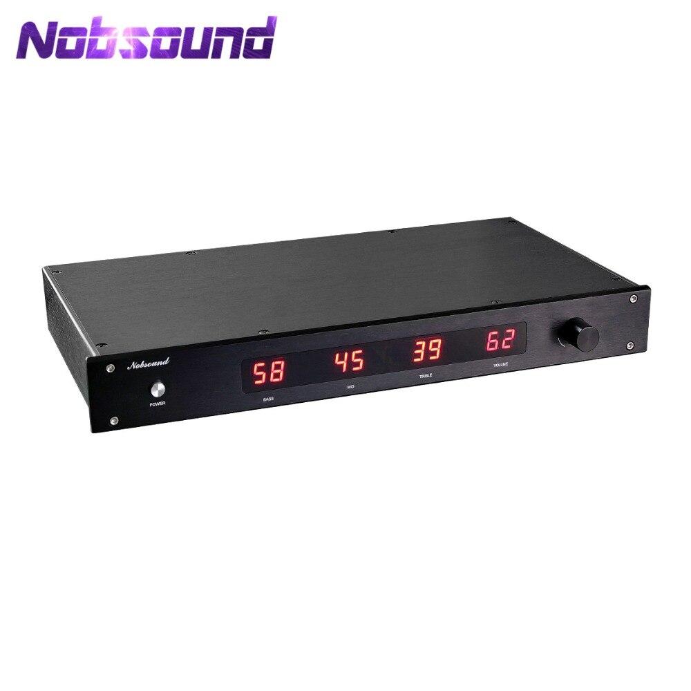 Nobsound haut de gamme Électronique à Trois voies Crossover Linkwitz-riley Hi-Fi 5.1 Canal Pré-Amplificateur inspiré par les ÉTATS-UNIS ESP
