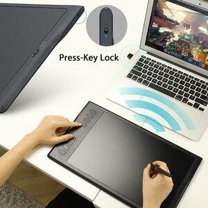Image 5 - HUION INSPIROY Q11K V2 Беспроводной цифровой пера планшета Батарея Бесплатная предназначен для Рисование графический планшет для рисования Tablet с 8192 уровней