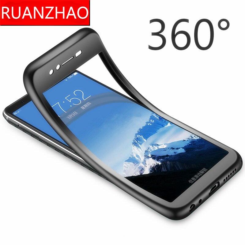For Huawei Y5 Y9 Case Nova2i 360 Full Body Silicone Case For Huawei Y5 Y9 Y6 Prime 2018 NOVA 2lite 3i Soft Cover TPU Y5 Y6 Y9