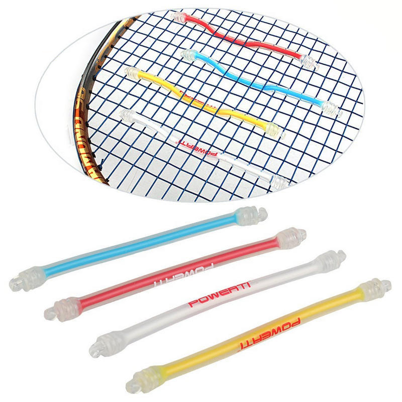 10pcs Tennis Racket Shock Absorber Silicone Durable Damper For Tennis Strings XR-Hot