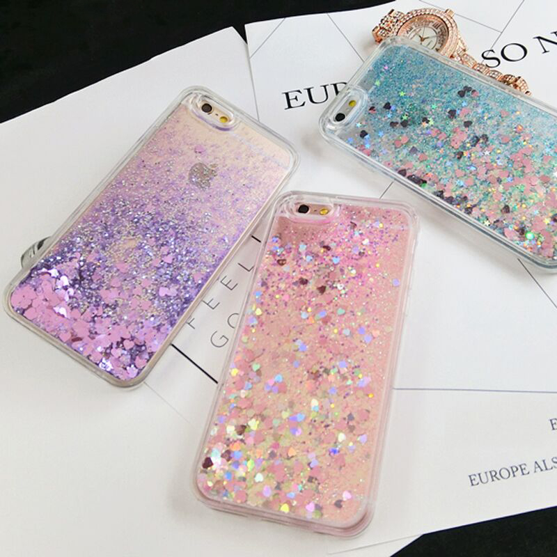 Love-Heart-Stars-Glitter-Stars-Dynamic-Liquid-Quicksand-Case-For-iPhone-6-Case-6-7-Plus (2)