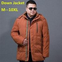 new 8XL 6XL 5XL 4XL 90% White Duck Thick Down Jacket men coat Snow parkas male Warm Brand Clothing winter Down Jacket Outerwear
