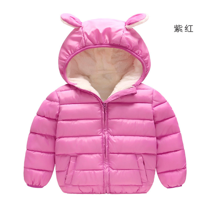 6f7c8ca17686f 2018 new Spring Children Coat Autumn Kids Jacket Boys Outerwear enfant Coats  Baby Clothes girls Lightweight down cotton Clothing-in Jackets   Coats from  ...