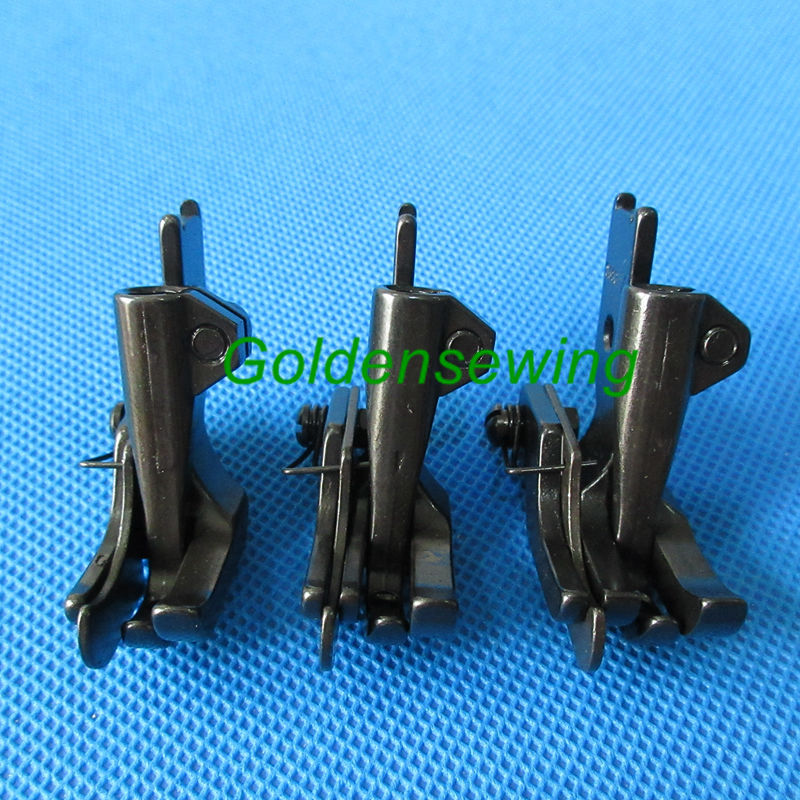 3 Sets WALKING FOOT FEET With LEFT  EDGE GUIDE For JUKI DNU-1541 241 LU- 562 563  S585