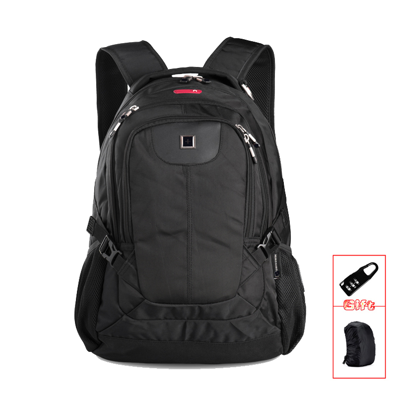Quality Black Business Laptop Backpack Male 15 Notebook Computer Bag Mochila masculino Orthopedic Backpack  SWC0026 mi business backpack black