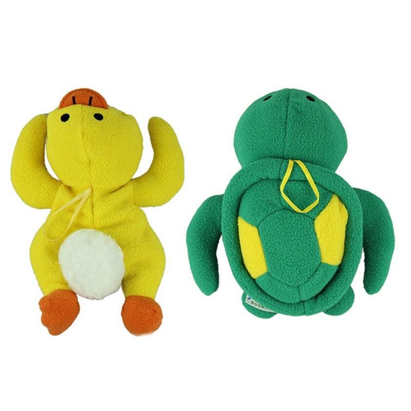 Cute Yellow Duck and Green Turtle Baby Bottle Huggers Infant feeding bottle bag case