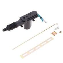 Универсальный 12 В Автомобильный Дверной замок контроллер с частями авто сверхмощный силовой дверной замок привод мотор 2 провода