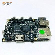 لوحة تطوير وسائط ROCK64 PINE64 HDR تعمل بنظام أندرويد لينكس رباعية النواة + مقبس LPDDR3 سعة 1 جيجابايت + فتحة بطاقة SD صغيرة + Pi 2 حافلة + Pi P5 + حافلة