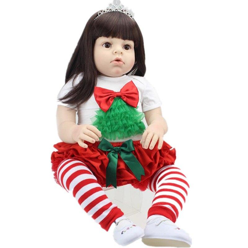 ARIANNA Reborn 70 см Мягкая силиконовая виниловые куклы 28 Reborn для маленьких девочек малыш пользовательские R. ШИК Кукла памяти Куклы Подставки для